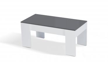Table basse de salon avec plateau relevable petit modèle Salva