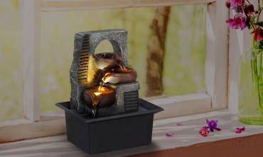Fontaine Zen avec Led