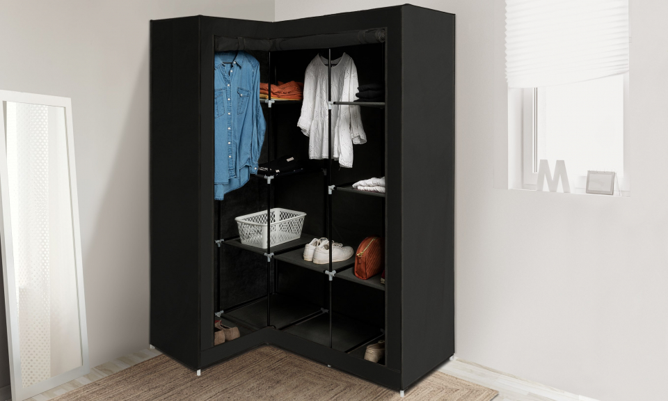 Armoire rangement optimale d'angle