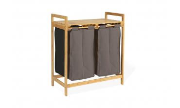 Bac à linge double Bambou